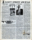YANCY STREET JOURNAL Vol 1 #11 Nov 1965 4 Page FANZINE MAIL PREMIUM Marvelmania