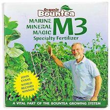 Organic Bountea Marine Mineral Magic M3 1 lb pound Compost Tea plant nutrient