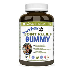 Nature's Dynamics Crazy Doggy Joint Relief Gummy for Dogs Pet Supplement (60 ct)