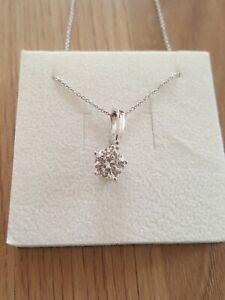 Silberkette Mit Stein, Anhänger, Schmuck, Swarovski Element, Halskette, Stein Aromatischer Charakter Und Angenehmer Geschmack