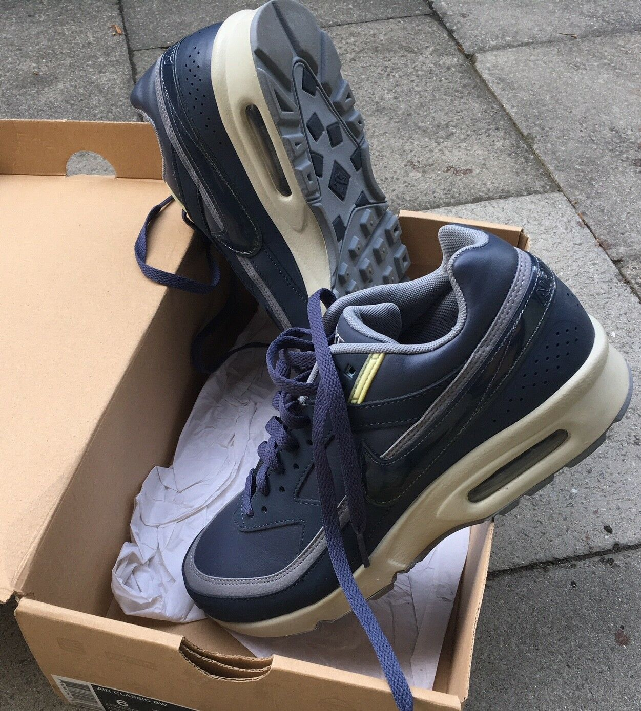 Nike Air Classic BW 309210 442 Trainers Size UK 3.5 US 6 CM 23