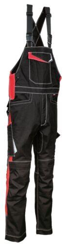 48405 Arbeitslatzhose Modell Viseu Kollektion Ergowear von Cofra schwarz rot NEU