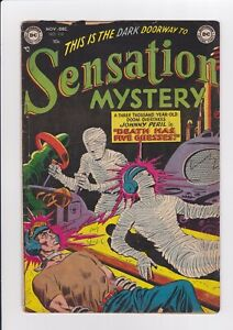 Sensation-Mystery-112-Nov-1952-DC-Scarce-Sci-Fi-Horror-Issue-GD