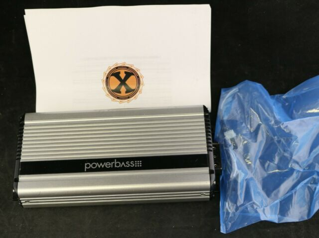 Powerbass 4 Channel Powersport Amplifier XL-4165M