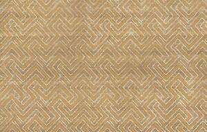 Wallpaper-Designer-Metallic-Gold-amp-Cream-Link-Geometric-on-Gold