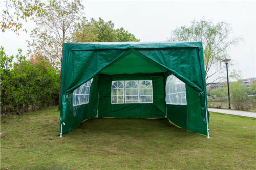 Gazebo Party Tent Marquee 3x6m 3x4m Waterproof Outdoor Garden Wedding PE Canopy