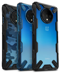 For OnePlus 7T / OnePlus 7T Pro Case Ringke [FUSION-X] Shockproof Bumper Cover