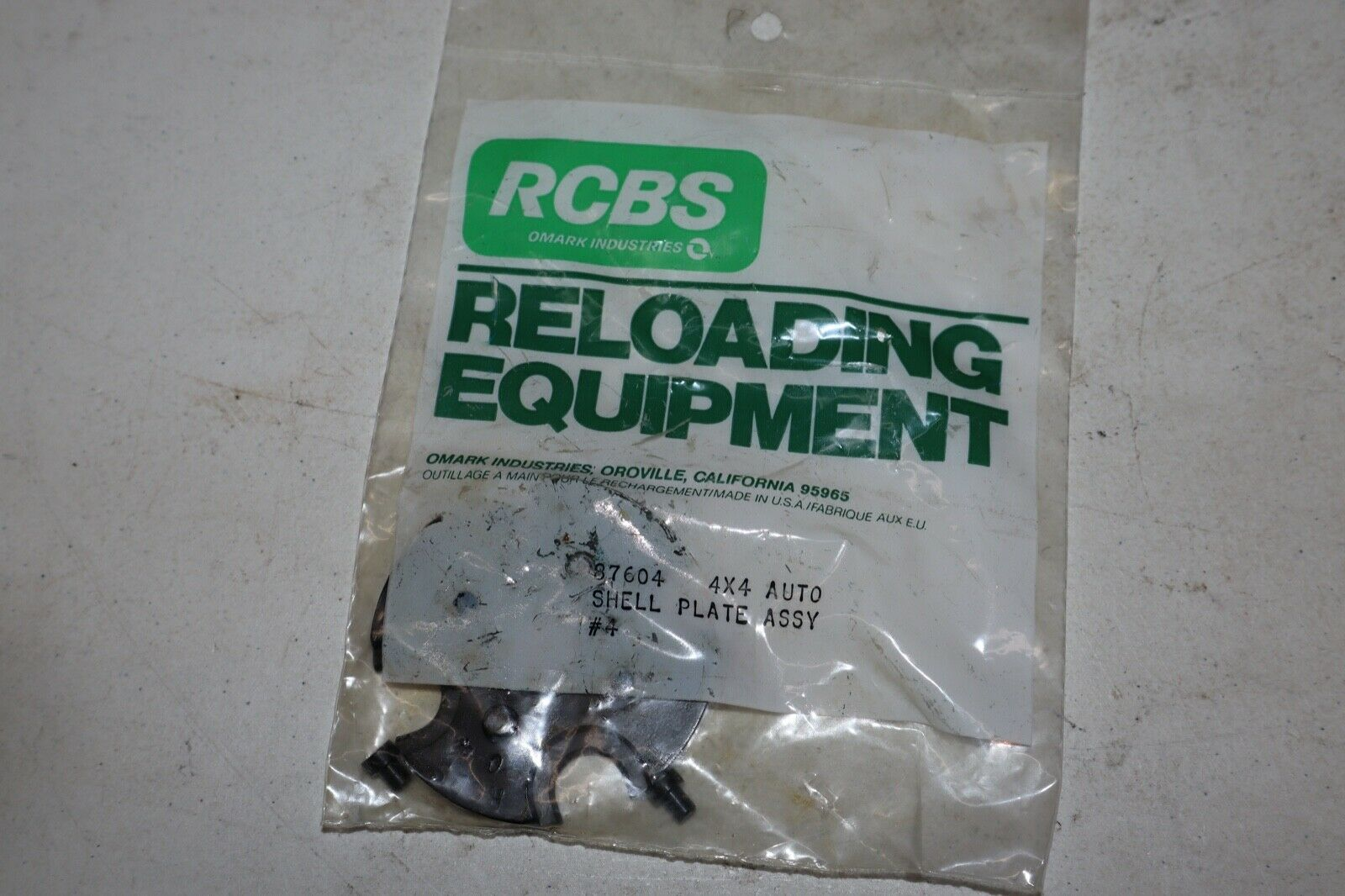 Rcbs 4x4 16 Shell Plate Assy W Buttons 9mm 30 Luger Base Sizes Reloading For Sale Online Ebay