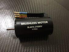 1/8 RC 4074 2150kV 4 Pole Brushless Motor Fits Hpi Savage Traxxas E Revo E Maxx