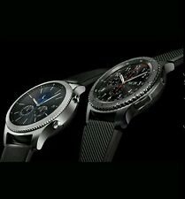 4 S3 Samsung Galaxy Gear frontera Smartwatch SM-R760 Reloj inteligente Bluetooth Wi-fi
