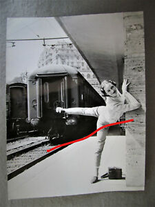 Hannover Ballett   Genua Bahnhof   Ursula Rieck großes orig. Foto
