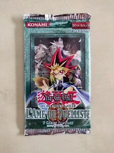 Booster-Yu-Gi-Oh-L-039-Ame-du-Duelliste-1ere-edition-VF-Neuf-Scelle