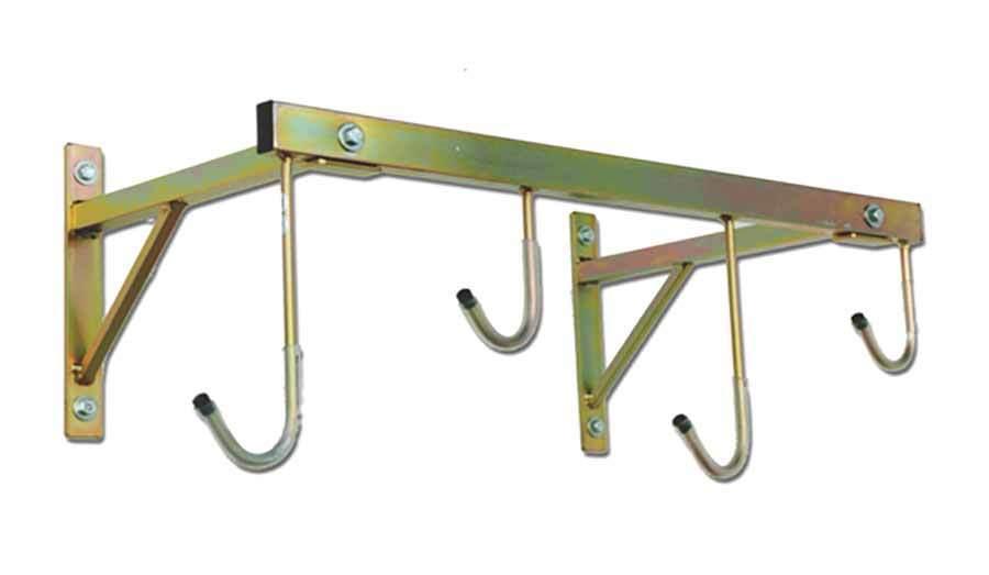 Porta biciclette a parete da 4 posti smontabile ART 3004