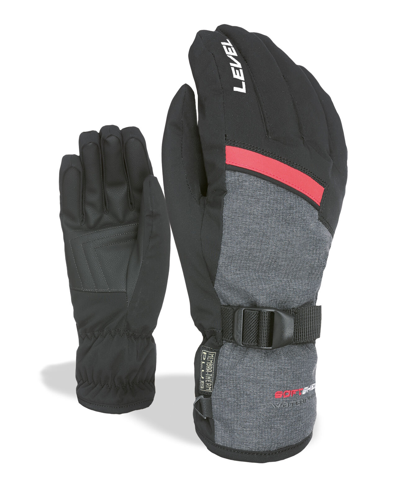 Level Guantes Héroe black Impermeable Transpirable Cálidos