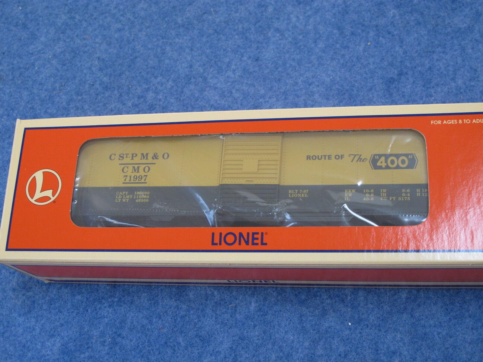 1997 Lionel 6-52110 LCCA Convention Car C St. PM&O Box Car L1333