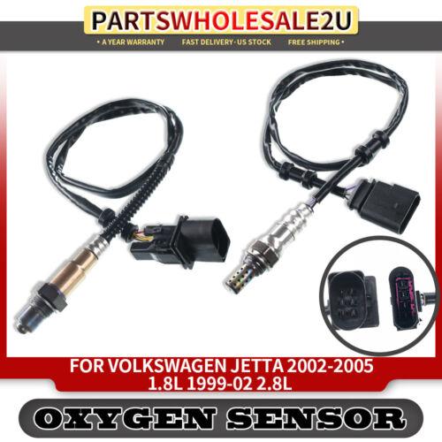 2x Upstream/&Downstream Oxygen Sensors for Volkswagen Jetta 1999-2005 250-24494