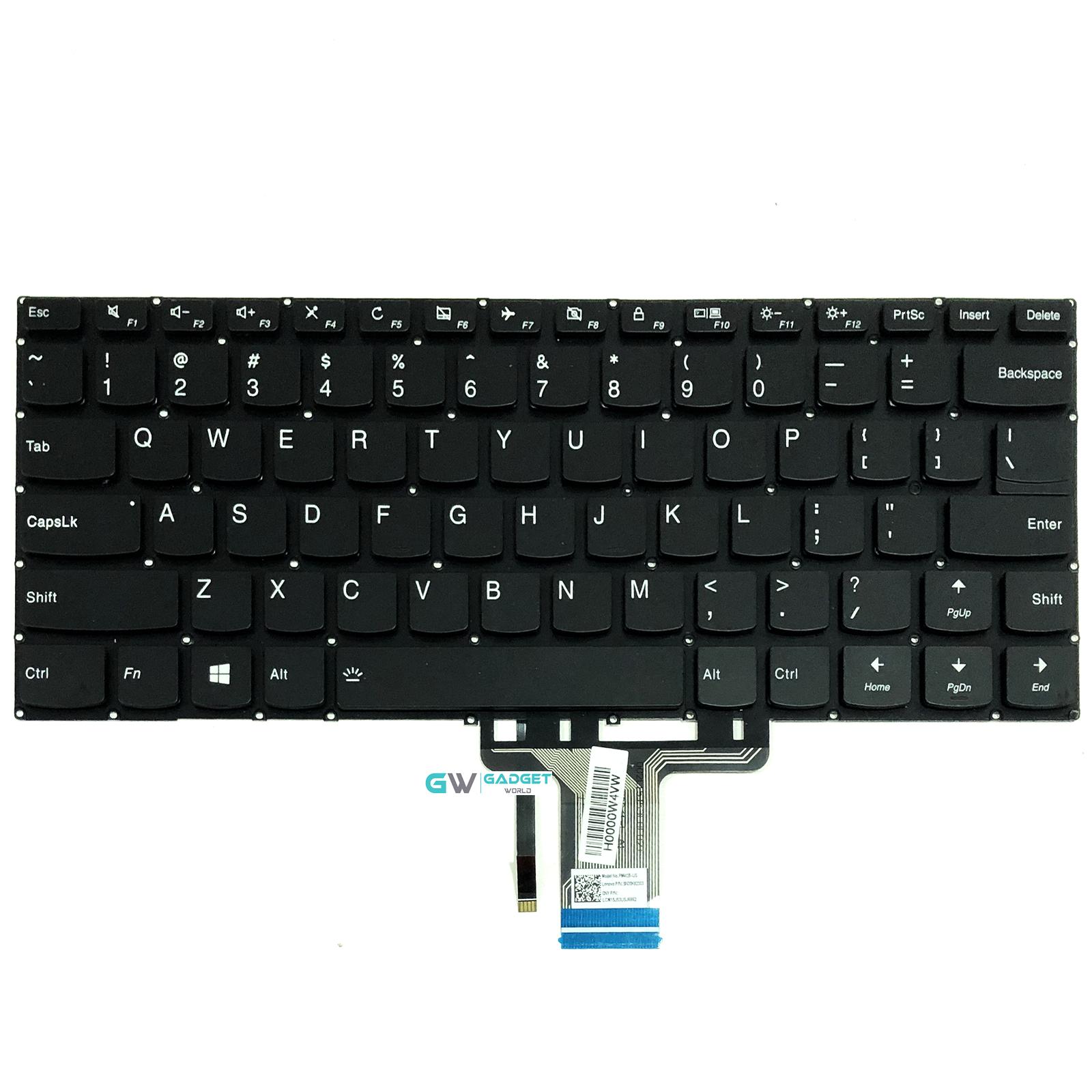 For Lenovo yoga 510-14AST 510-14IKB 510-14ISK Keyboard US for Backlit