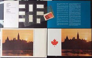 1971-CANADA-SOUVENIR-COLLECTION-CARD-13-RARE-Extra-Fair-original-envelope