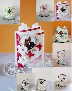 Hochzeitskerze Traukerze Mit Foto 3d Orchideen Hochzeitsgeschenk Ebay