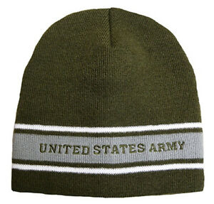 c6829621b73 Image is loading U-S-Army-Knit-Cap-OD-Green-Watch-Cap-