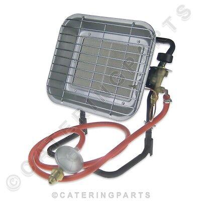 Portable Grey LPG Propane Space Heater