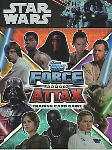 Star Wars  Force Attax Movie Series 1 Base Cards 76-100