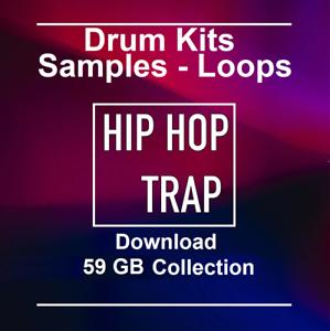 81,000+ Hip Hop Trap WAV samples Loops Ableton Logic Pro Tools FL Studio