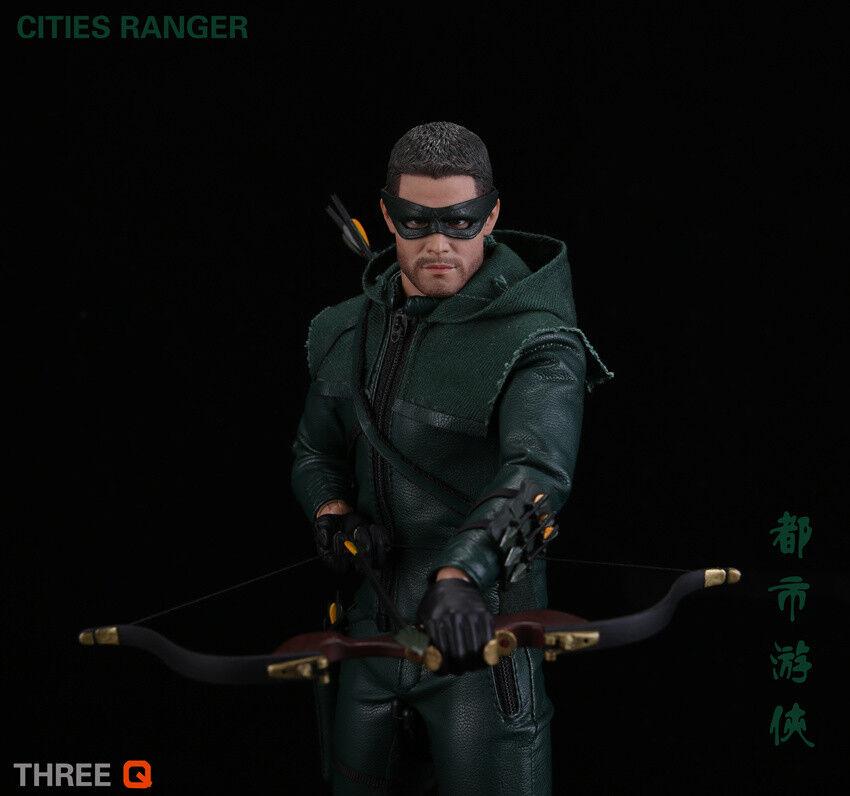 THREEQ 1/6th CITIES RANGER TQ1001 DC Comics Hero Male Figure Toy