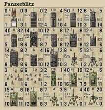 Avalon Hill's Panzerblitz Counters – Top-Down – Die-Cut