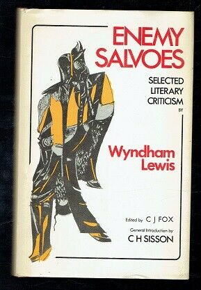 Lewis, Wyndham; Enemy Salvoes. Selected Literary Criticism. Vision 1975 Good