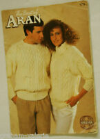 Knitting Pattern Sirdar The Best of Aran 179 12 patterns for the family