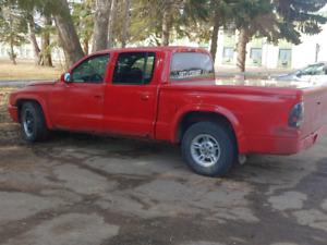 2002 Dodge Dakota Red