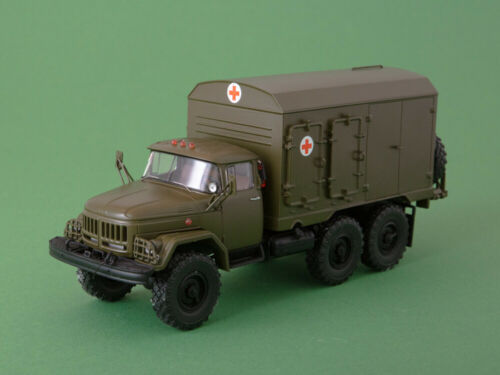 1//43 Ambulance DDA-3 Military Sower ZiL 131 Chassis   ModelPro  NEW OVP