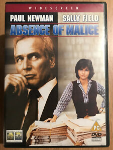 Absence-of-Malice-DVD-1981-Court-Room-Drama-Classic-w-Paul-Newman-Sally-Field