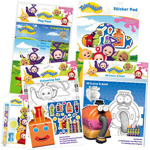 TELETUBBIES - Colouring/Activity/Sticker/Busy Packs/Books (Kids/Gift ...
