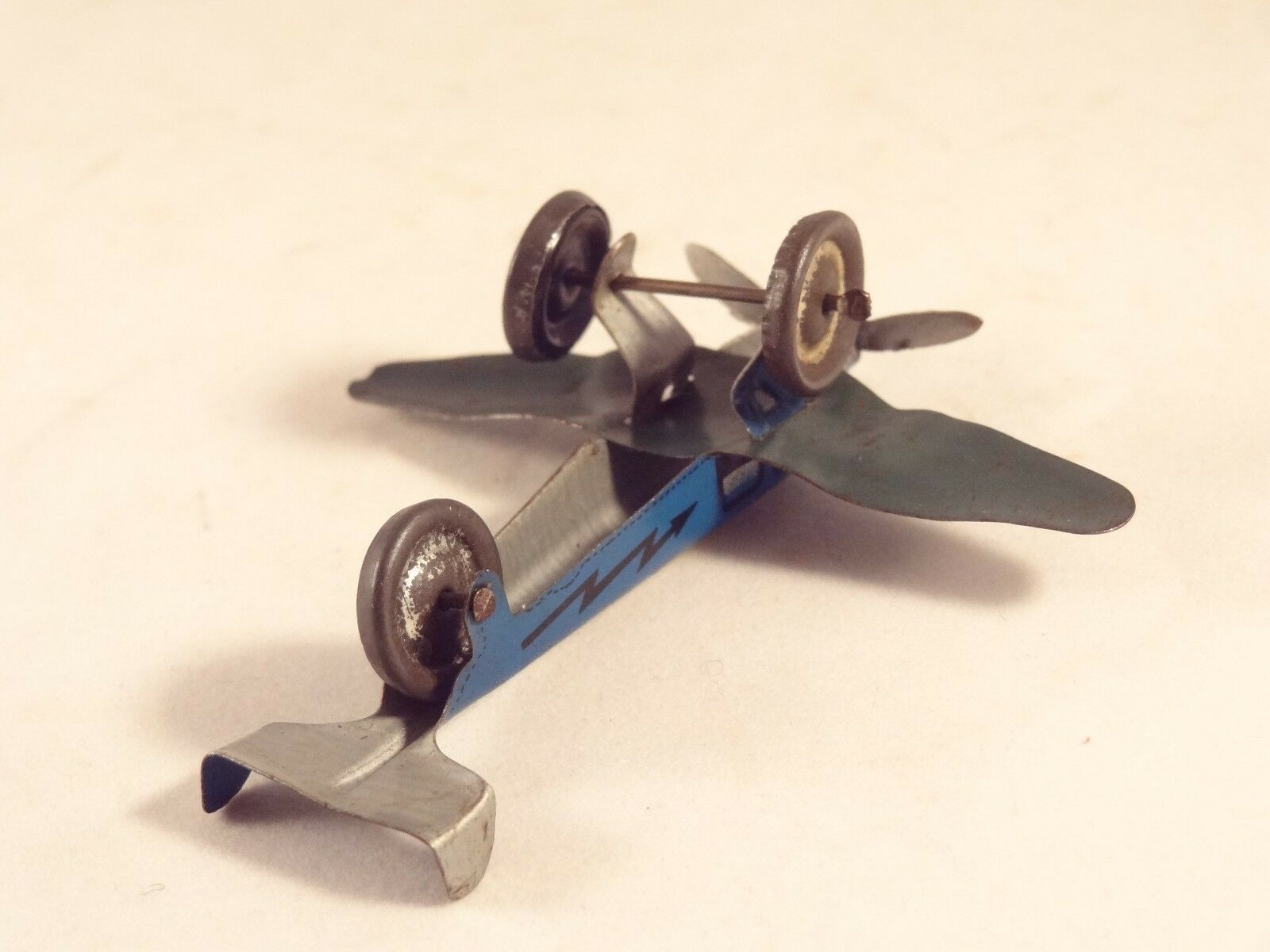 Ancien jouet avion tôle lithographiée Penny toy n°81Made in in in  ITALY1930 INGAP e9de1e