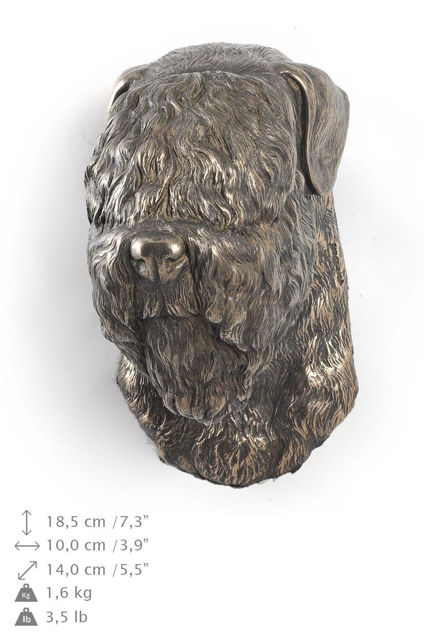 TerrierRuso Negro, estatuilla de perro para colgar, edición limitad ES