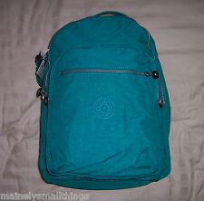 NWT Kipling SEOUL Backpack with Laptop Protection PARADISE GREEN BP3020