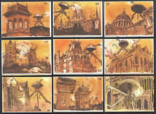 THE WAR OF THE WORLDS PREVIEW EDITION (Cult-Stuff/2012) 9-CARD SET Robert Hack