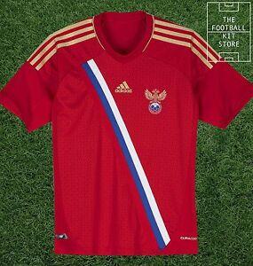 Russia-Home-Shirt-Official-Adidas-Boys-Football-Shirt-All-Sizes