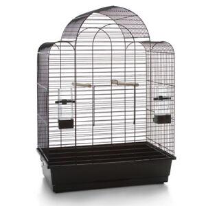 Cage à oiseaux Cage à oiseaux Volière * xl * 'big Sonia' 54x34x74 cm Noir