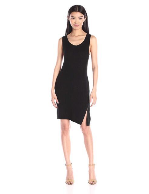 202d4b953f7 BB Dakota Women s Alexa Zip Side Sweater Dress Black X-small