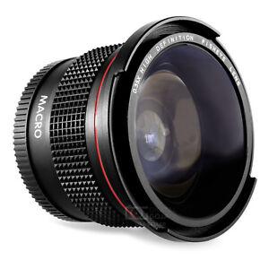 Altura-Photo-58MM-0-35x-Lente-Ojo-de-pescado-gran-Angular-W-macro-para-camaras-DSLR-Canon