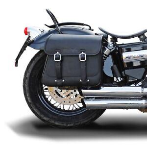 17 Liter Satteltasche rechts Harley Dyna Glide Wide Glide (bis 2017) Buffalo Bag