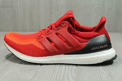 52 New Mens Adidas UltraBoost Ultra Boost M Running Shoes Red Black AQ4006 7, 18 | eBay