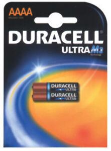 2-X-Batteria-Duracell-professionale-pila-alcalina-AAAA-M3-MN2500-microstilo-4692