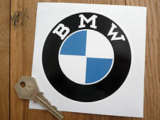 BMW Serif Style Roundel Motorcycle or Car STICKER 100mm Race Rally Motorsport