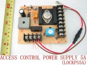 Door Access Control Power Supply 12V 5A