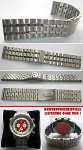 SUPERBREITES-EDELSTAHLARMBAND-passend-auch-fur-Retrochron-Wahl-26-27-28-mm