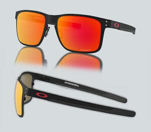 New Oakley OO 4123 HOLBROOK METAL 412312 Matte Black Sunglasses   eBay e908dfc309